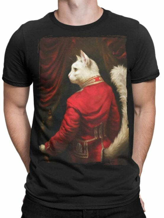 0677 Cat Shirts Sir Front Man