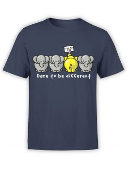 0679 Elephant Shirt Be Different Front