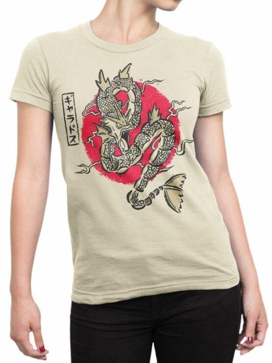 0680 Dragon Shirt Rough Front Woman