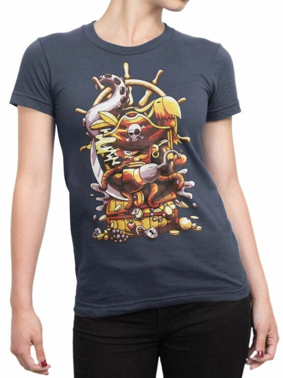 0684 Pirate Shirt Sea Front Woman
