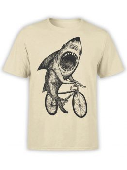 0686 Shark Shirt Bicycle Front