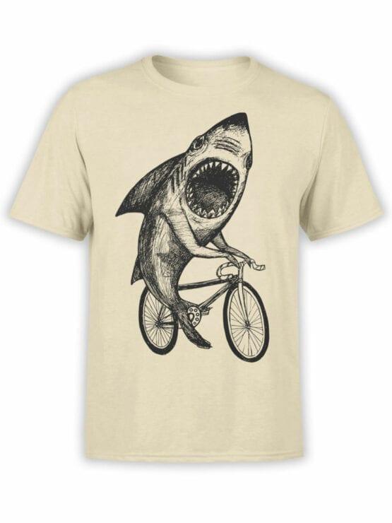 0686 Shark Shirt Bicycle Front
