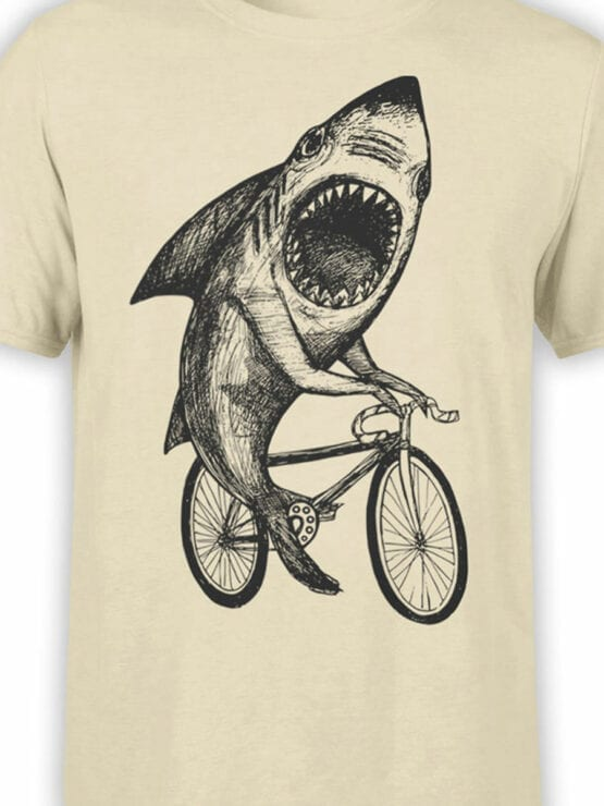 0686 Shark Shirt Bicycle Front Color