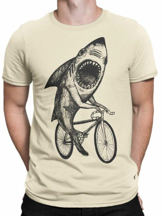 0686 Shark Shirt Bicycle Front Man