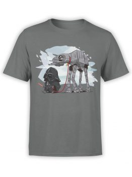 0691 Star Wars T Shirt Cute Vader Front