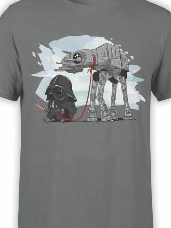 0691 Star Wars T Shirt Cute Vader Front Color