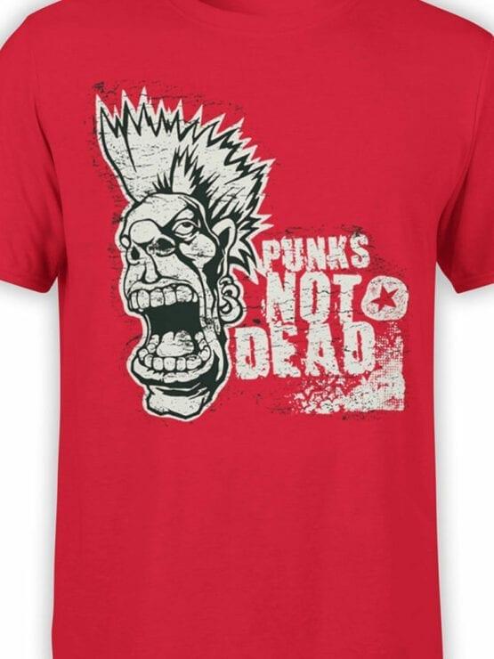 0693 Cool T Shirts Punk Front Color