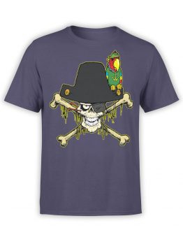 0694 Pirate Shirt Captain Roger Front