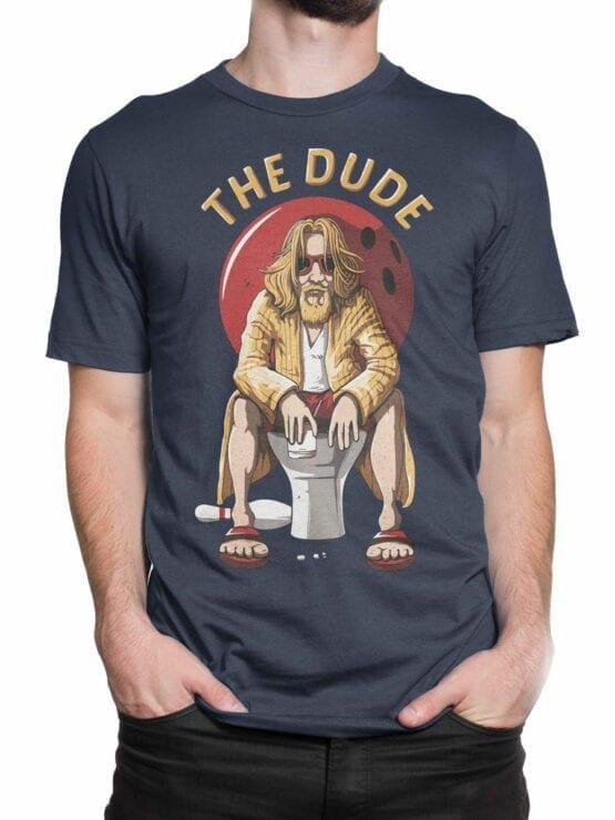 0697 Big Lebowski T Shirt Dude Rest Front Man 2