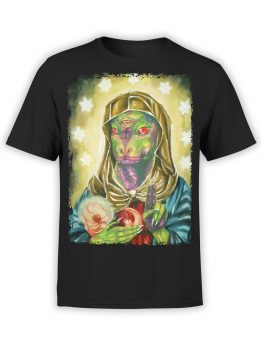 0699 Alien Shirt Blessed Reptilian Front