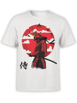 0702 Samurai Shirt After Battle Front