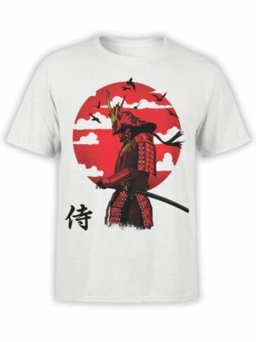 0702 Samurai Shirt After Battle Front