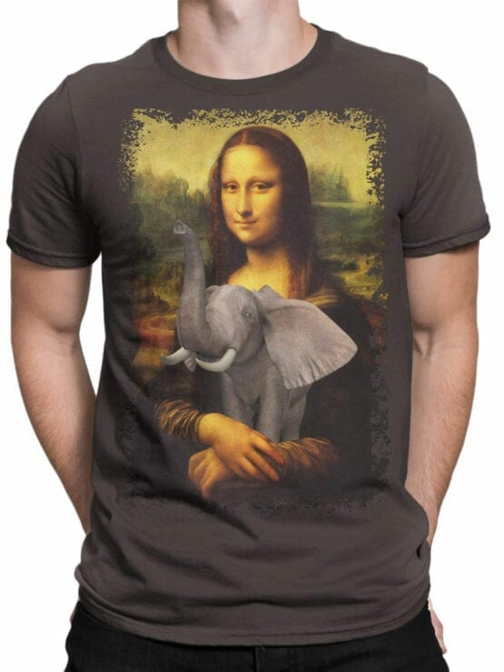 0704 Elephant Shirt Mona Elephantisa Front Man