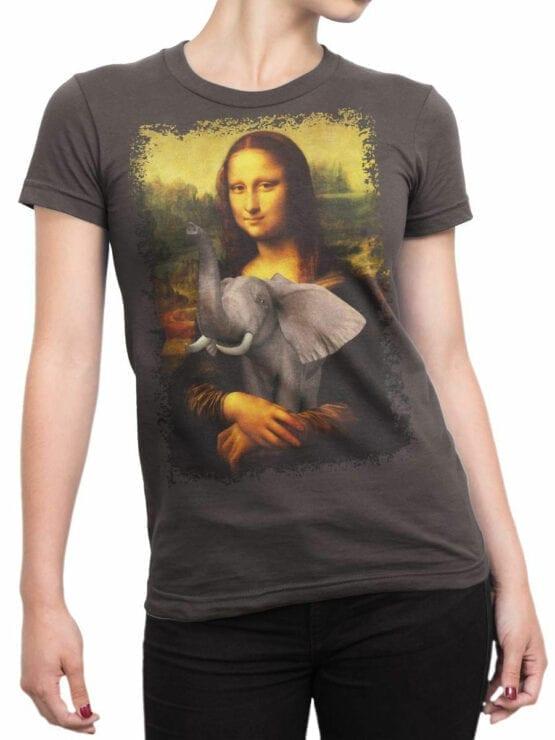 0704 Elephant Shirt Mona Elephantisa Front Woman