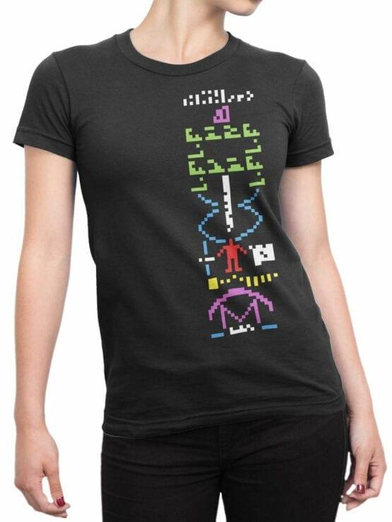 0706 NASA Shirt Arecibo Message Front Woman
