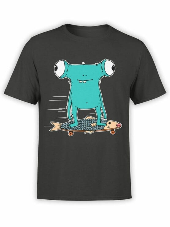 0716 Monster Shirt Fishboard Front