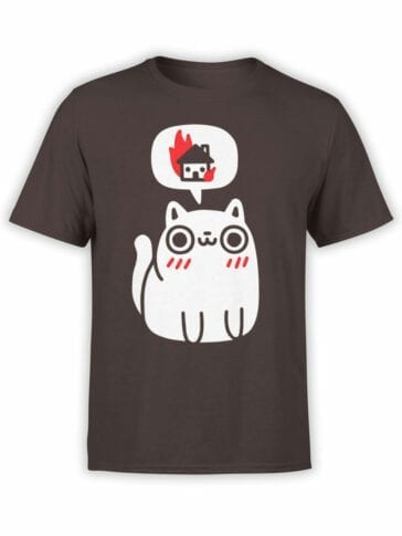 0719 Cat Shirts Burn Front