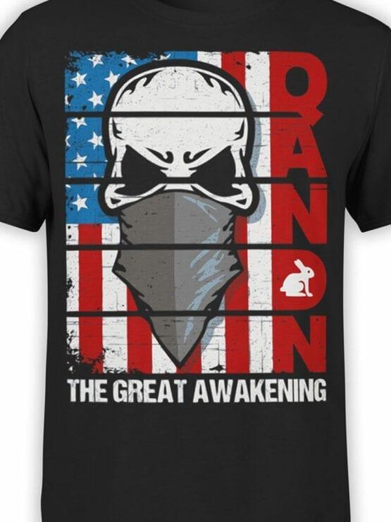 Patriotic Shirt Qanon Front Color