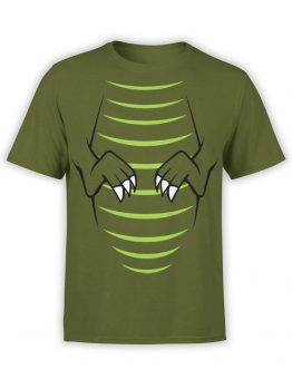 0723 Dinosaur T Shirt T Rex Front