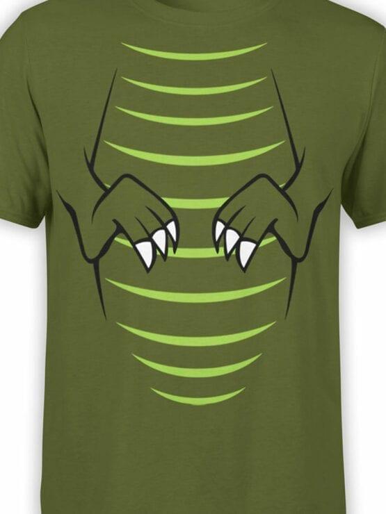0723 Dinosaur T Shirt T Rex Front Color