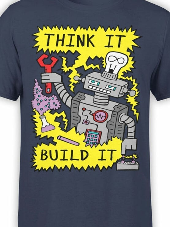 0724 Science Shirt Robot Front Color