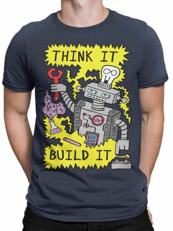 0724 Science Shirt Robot Front Man