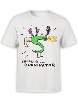 0726 Dragon Shirt Burninator Front