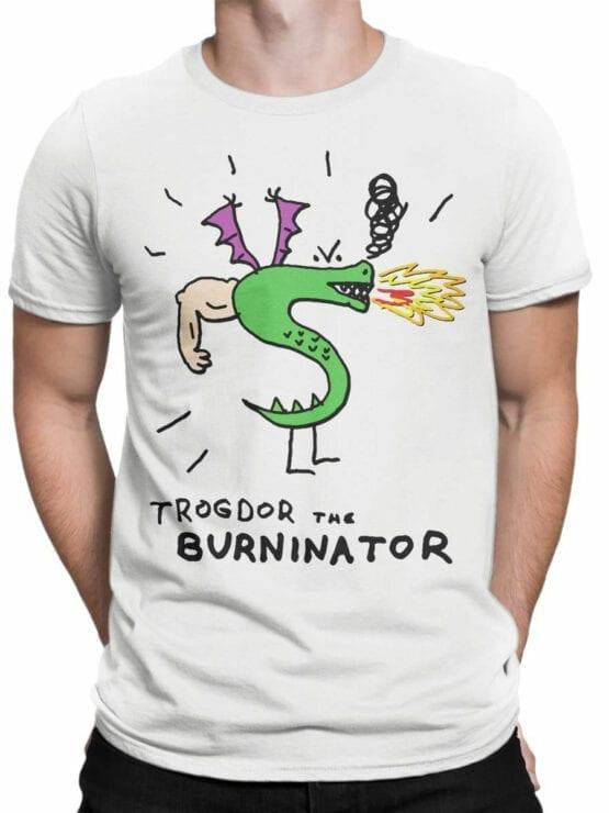 0726 Dragon Shirt Burninator Front Man
