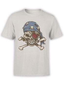 0727 Pirate Shirt Skull Front