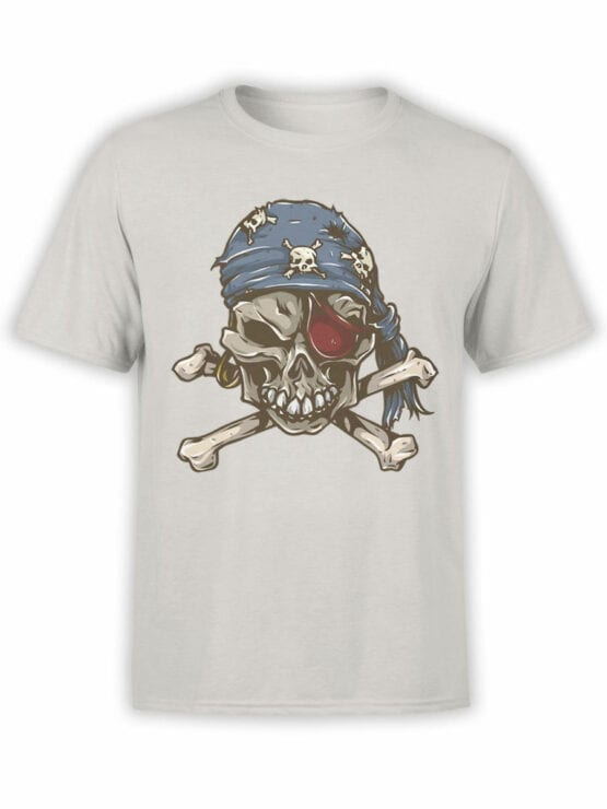 0727 Pirate Shirt Skull Front