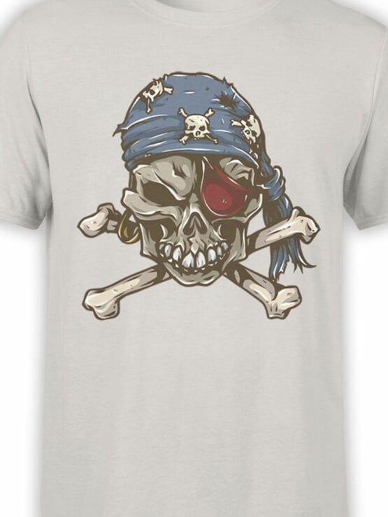 0727 Pirate Shirt Skull Front Color