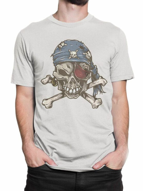 0727 Pirate Shirt Skull Front Man 2