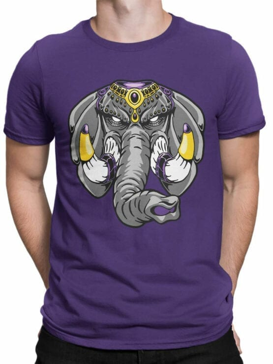 0729 Elephant Shirt Anger Front Man