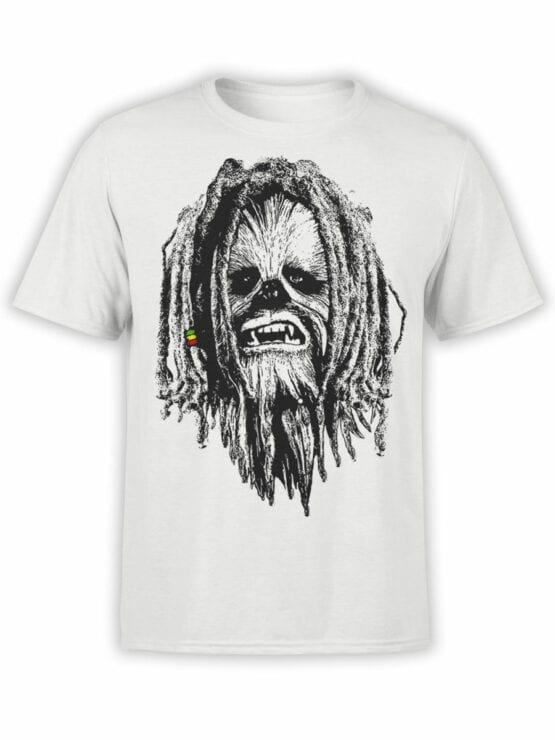 0730 Star Wars T Shirt Chewbacca Front