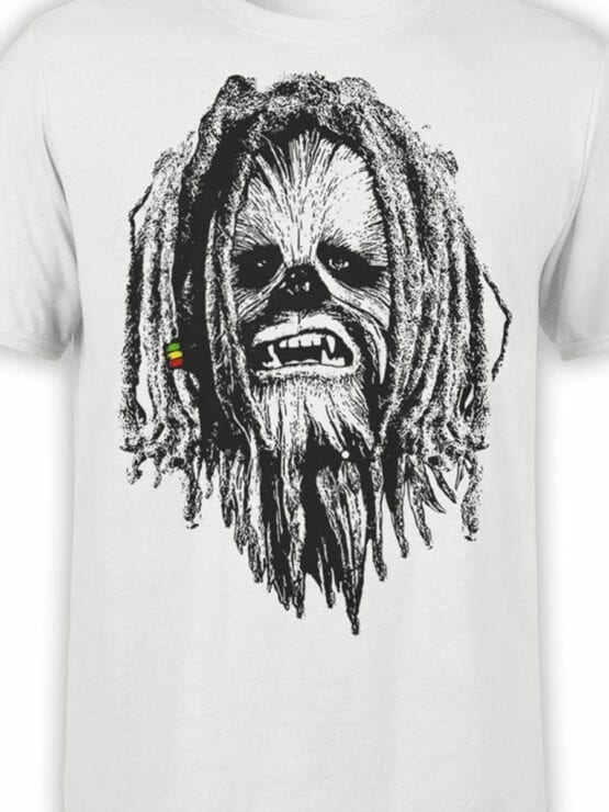 0730 Star Wars T Shirt Chewbacca Front Color