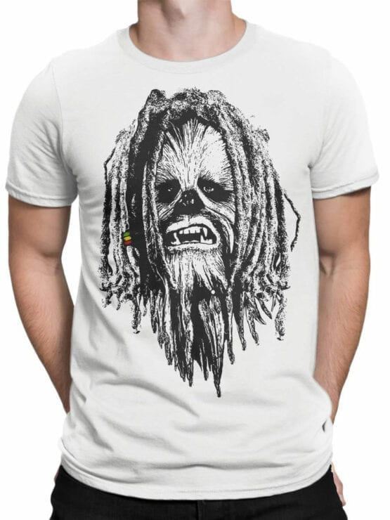 0730 Star Wars T Shirt Chewbacca Front Man