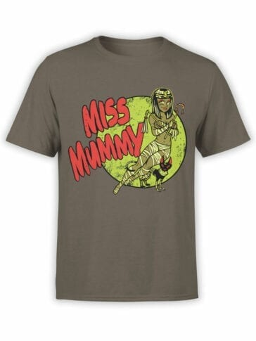 0732 Cool T Shirts Miss Mummy Front