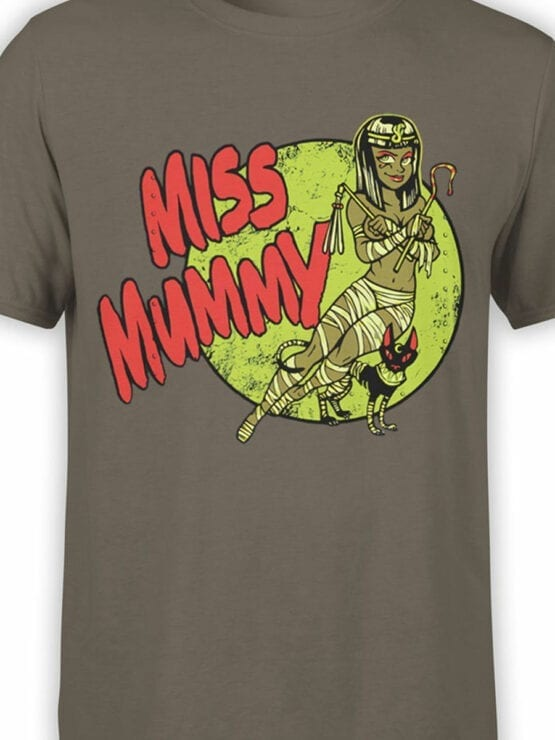 0732 Cool T Shirts Miss Mummy Front Color