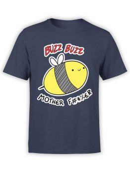0734 Funny T Shirts Buzz Front