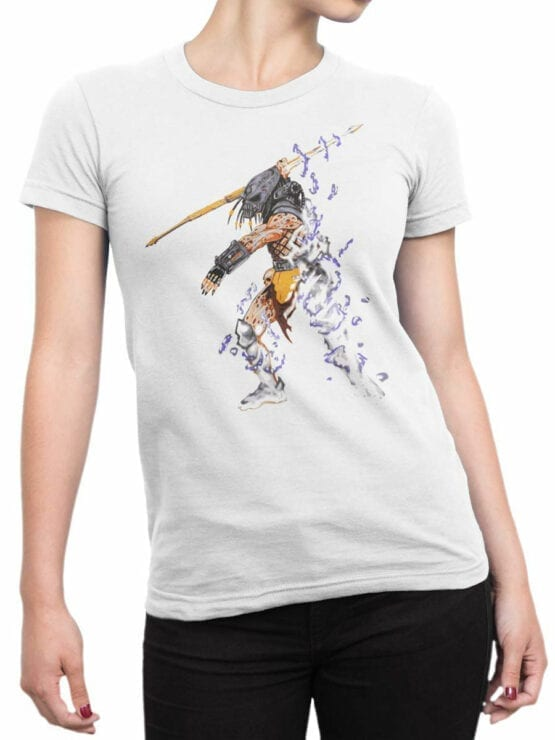 0737 Predator Shirt The Hunter Front Woman