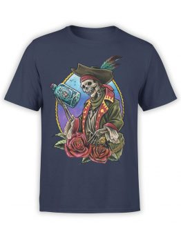 0742 Pirate Shirt Roses Front