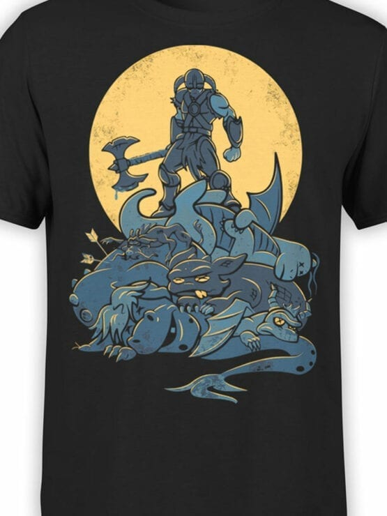 0743 Dragon Shirt Victory Front Color