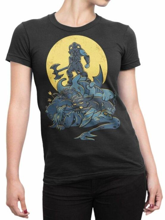 0743 Dragon Shirt Victory Front Woman