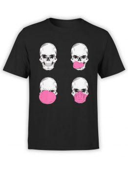 0745 Skull Shirt Gum Front