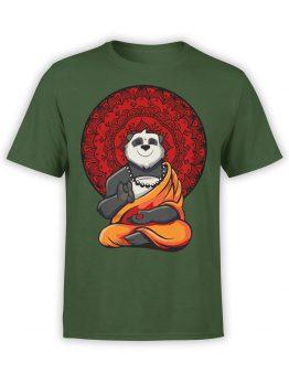 0801 Panda Shirt Meditation Front