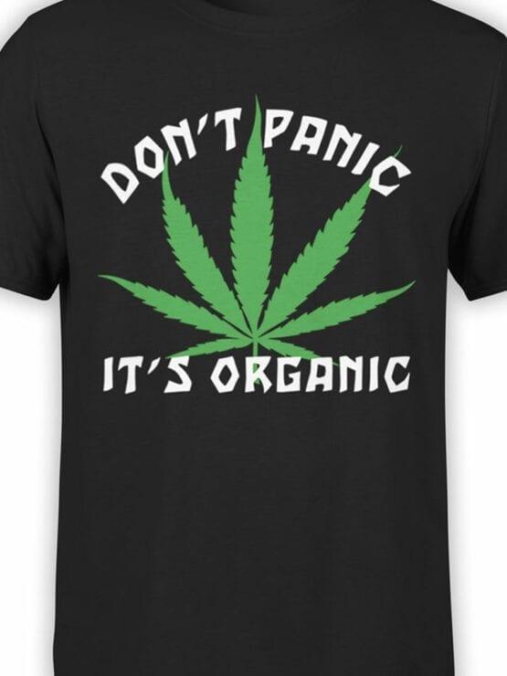 0807 420 Shirt Organic Front Color