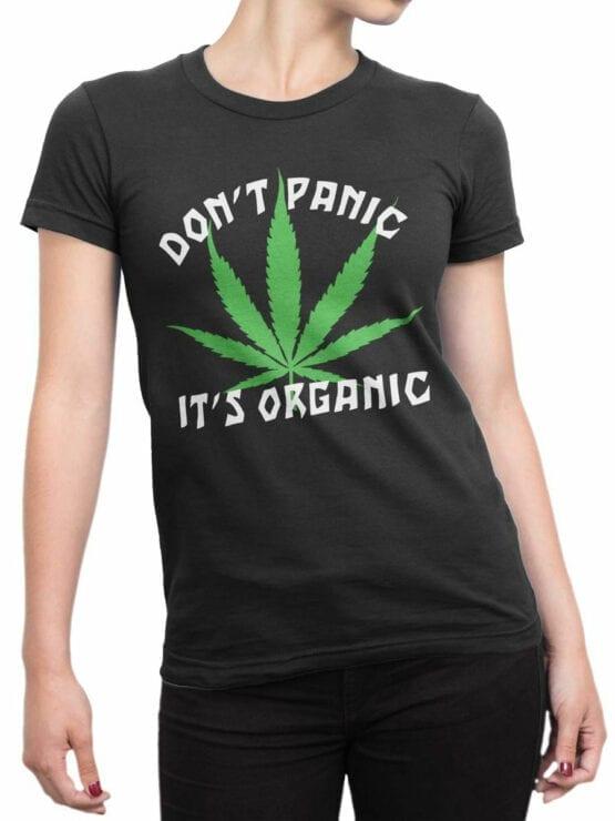 0807 420 Shirt Organic Front Woman