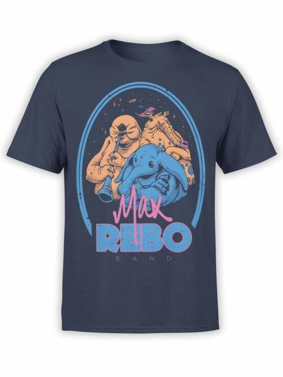 0812 Star Wars T Shirt Rebo Band Front