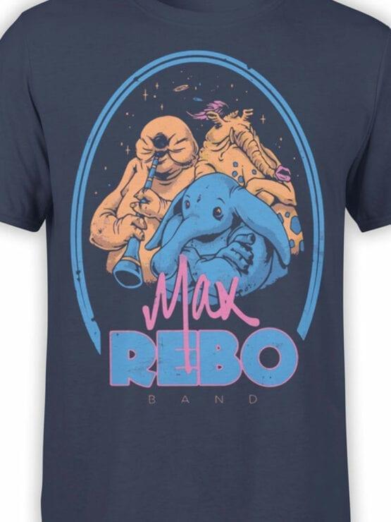 0812 Star Wars T Shirt Rebo Band Front Color