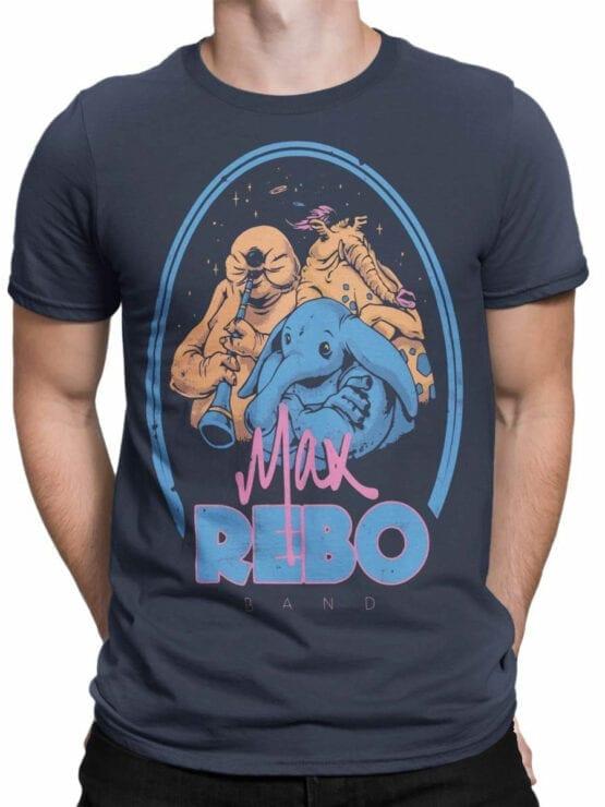 0812 Star Wars T Shirt Rebo Band Front Man